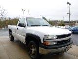 2000 Summit White Chevrolet Silverado 1500 Regular Cab 4x4 #80480625