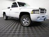2000 Bright White Dodge Ram 1500 Sport Regular Cab 4x4 #80480864