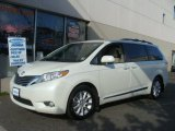 2011 Blizzard White Pearl Toyota Sienna Limited AWD #80481065