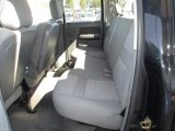 2007 Dodge Ram 3500 SLT Quad Cab 4x4 Dually Rear Seat