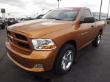 2012 Tequila Sunrise Pearl Dodge Ram 1500 Express Regular Cab #80539159