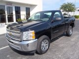 2013 Black Chevrolet Silverado 1500 Work Truck Regular Cab #80539464