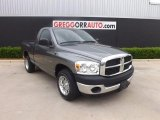2007 Mineral Gray Metallic Dodge Ram 1500 ST Regular Cab #80539153