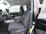2013 Toyota Tundra TRD Double Cab Black Interior
