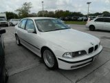 Alpine White BMW 5 Series in 2000