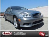 2013 Palladium Silver Metallic Mercedes-Benz S 350 BlueTEC 4Matic #80538915