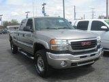 2003 Pewter Metallic GMC Sierra 2500HD SLT Crew Cab 4x4 #80539433