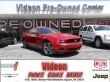 2011 Red Candy Metallic Ford Mustang V6 Premium Coupe #80539420