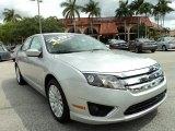 2010 Brilliant Silver Metallic Ford Fusion Hybrid #80538887