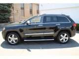 2012 Jeep Grand Cherokee Black Forest Green Pearl
