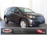2013 Polished Metal Metallic Honda CR-V EX AWD #80538705