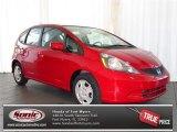 2013 Milano Red Honda Fit  #80538704