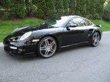 2007 Black Porsche 911 Turbo Coupe #80538797