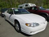 White Chevrolet Monte Carlo in 2003
