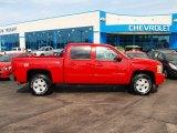 2012 Victory Red Chevrolet Silverado 1500 LTZ Crew Cab 4x4 #80538787