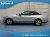 2011 Ingot Silver Metallic Ford Mustang V6 Convertible #80538869