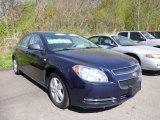 2008 Imperial Blue Metallic Chevrolet Malibu LS Sedan #80538988