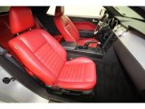 2006 Ford Mustang V6 Premium Convertible Front Seat