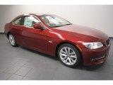 2012 Vermilion Red Metallic BMW 3 Series 328i Coupe #80539171