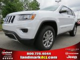 2014 Bright White Jeep Grand Cherokee Limited #80593047