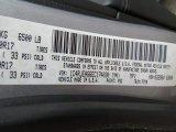 2014 Grand Cherokee Color Code for Billet Silver Metallic - Color Code: PSC