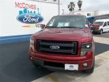 2013 Ruby Red Metallic Ford F150 FX4 SuperCrew 4x4 #80592800