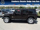 2013 Rugged Brown Pearl Jeep Wrangler Unlimited Sahara 4x4 #80592894