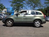 2009 Green Tea Metallic Honda CR-V LX 4WD #80593522