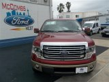 2013 Ruby Red Metallic Ford F150 Lariat SuperCrew #80592796