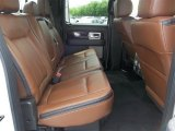 2013 Ford F150 Platinum SuperCrew 4x4 Rear Seat