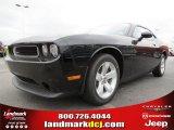 2013 Pitch Black Dodge Challenger SXT #80592997