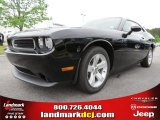 2013 Pitch Black Dodge Challenger SXT #80592994