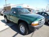 2004 Timberline Green Pearl Dodge Dakota SXT Regular Cab 4x4 #80593613