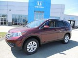 2013 Basque Red Pearl II Honda CR-V EX-L AWD #80593369