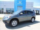 2013 Polished Metal Metallic Honda CR-V EX AWD #80593368