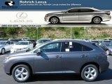 2013 Nebula Gray Pearl Lexus RX 350 AWD #80593130