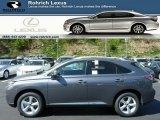 2013 Nebula Gray Pearl Lexus RX 350 AWD #80593124