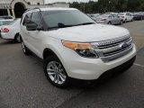 2011 White Platinum Tri-Coat Ford Explorer XLT #80593239