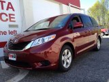2011 Salsa Red Pearl Toyota Sienna LE #80593466