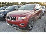 2014 Deep Cherry Red Crystal Pearl Jeep Grand Cherokee Limited 4x4 #80593082