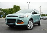 2013 Frosted Glass Metallic Ford Escape S #80593312