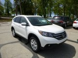 2013 White Diamond Pearl Honda CR-V EX-L AWD #80593433