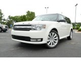 2013 Ford Flex White Platinum Metallic Tri-Coat