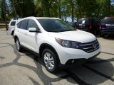 2013 White Diamond Pearl Honda CR-V EX-L AWD #80593432