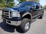 2005 Black Ford F350 Super Duty Lariat Crew Cab 4x4 #80651092