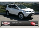2013 Blizzard White Pearl Toyota RAV4 Limited AWD #80650801