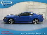 2003 Sonic Blue Metallic Ford Mustang Mach 1 Coupe #80650932