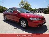 2002 Firepepper Red Pearl Honda Accord EX Sedan #80650960