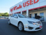2011 White Suede Ford Fusion SEL #80650912