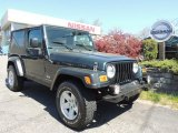 2006 Jeep Green Metallic Jeep Wrangler Unlimited Rubicon 4x4 #80650947